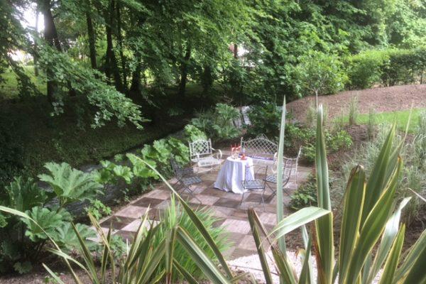 Création d'une terrasse sur l'eau