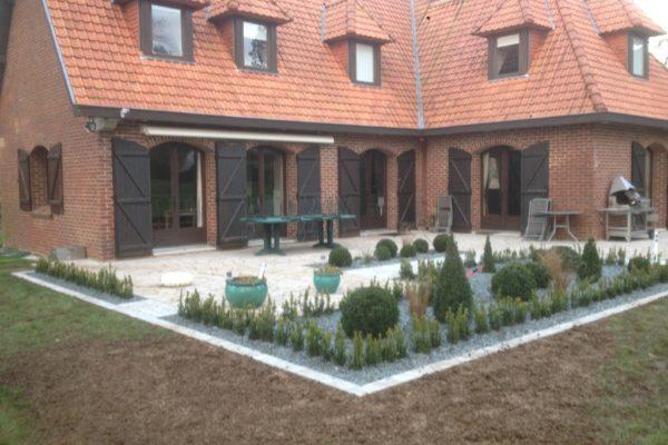 Modification de terrasse existante